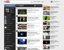 New YouTube Homepage